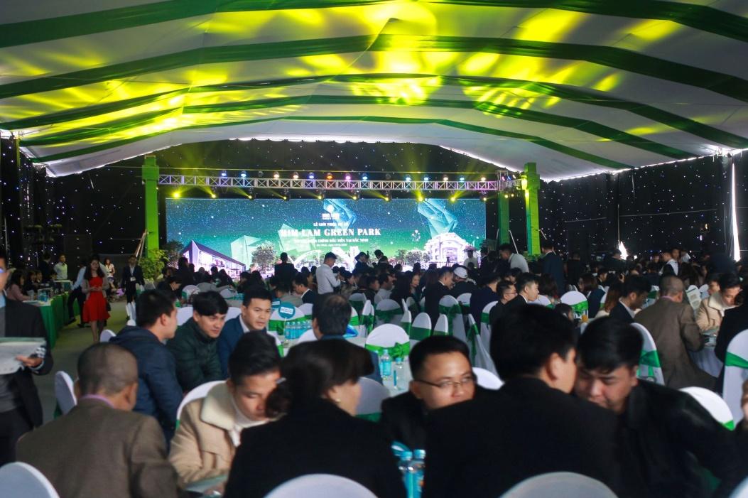 Toàn cảnh sự kiện mở bán Green Park