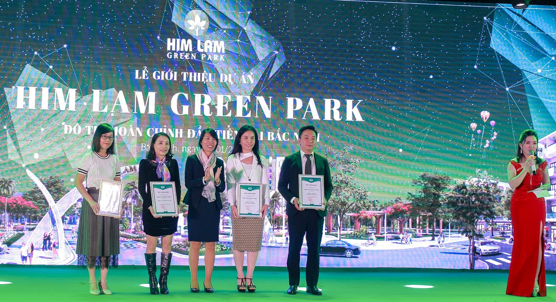 Sàn phân phối Him Lam Green Park